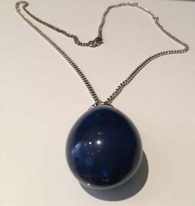 Collar Bola Azul