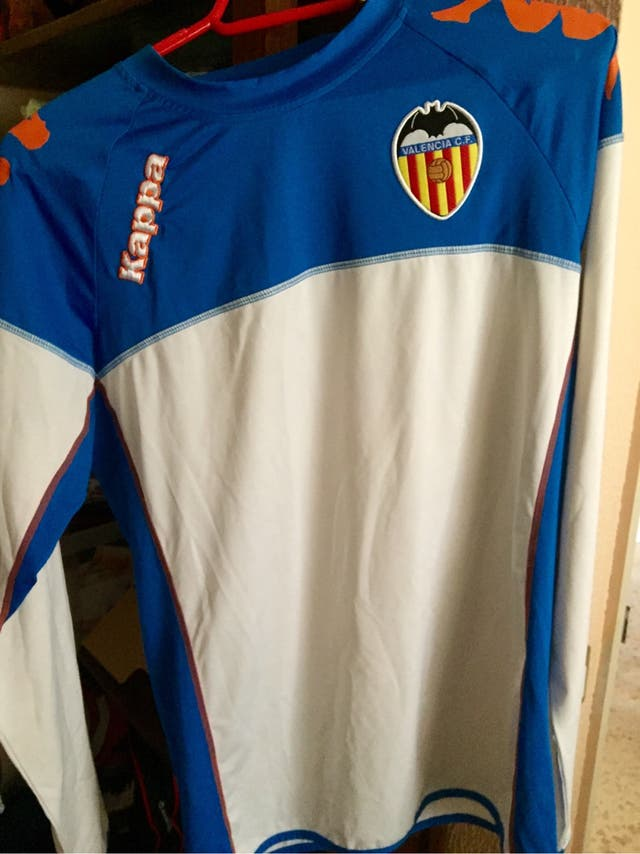 Camiseta De Entrenamiento Valencia Cf Manga Larga