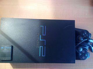 Playstation 2 + un mando +5 juegos + 39 demos