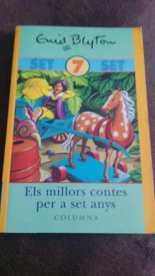Libro Els millors contes per a set anys