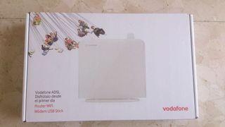 Router Vodafone + 2 módem usb liberado