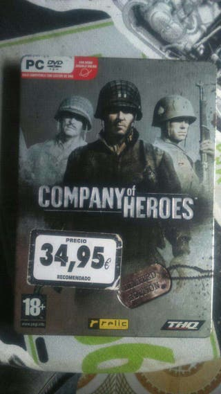 Juego pc company of heroes