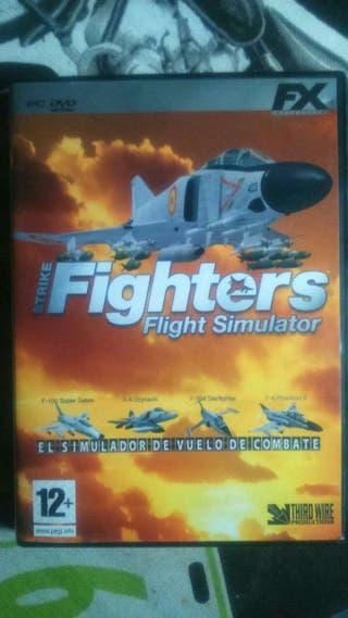 Juego pc fighters fligth simulator( nuevo)