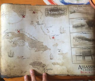 Mapa Assassins Creed: Black Flag