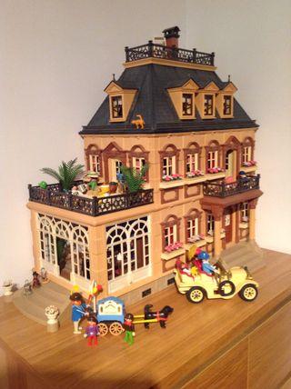 Mansion Victoriana Playmobil De Segunda Mano Por 600 En