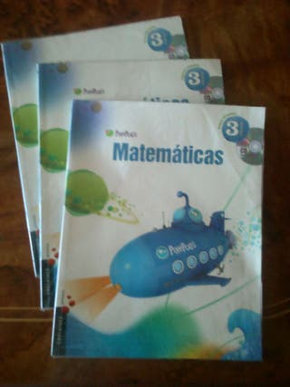 Libro matemáticas tercero de primaria.