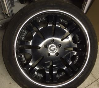 Llantas de 20 pulgadas y neumáticos