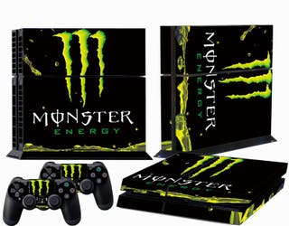 Vinilos Ps4 Monster