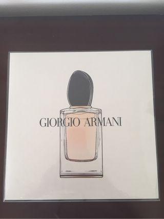 Coffret Giorgio Armani Si