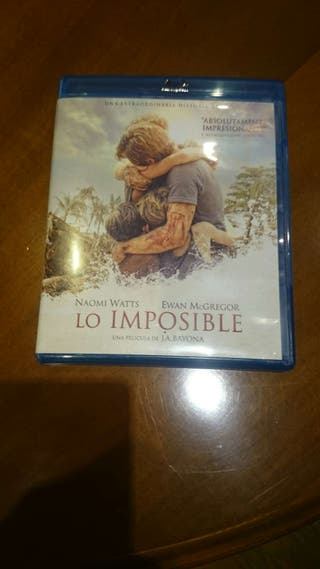 CD Blu-Ray Lo imposible