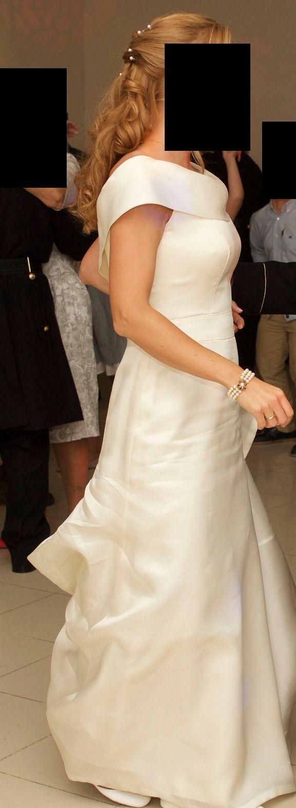 Espectacular vestido de novia marca Rosa Clará