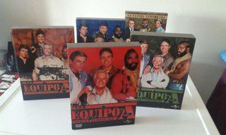 El equipo A en dvd. Serie completa. 5 temporadas