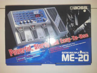 BOSS ME-20 Pedal Pedalera Guitarra