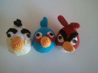 Angry birds amigurumi (hecho a mano)