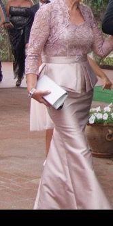 1690e30af Vestido Fiesta Madrina Carla Ruiz de segunda mano por 195 € en ...