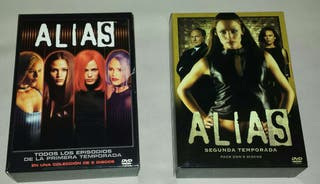 SERIE DVD Alias 1a y 2a Temporada