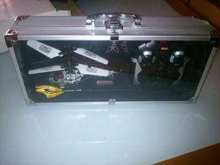 Helicoptero dos canales radiocontrol en maletin metalico