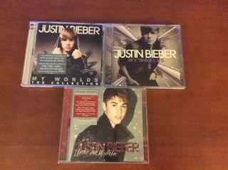 3 Discos De Justin Bieber