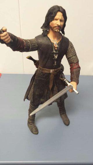 Figura de Aragorn del señor de los anillos
