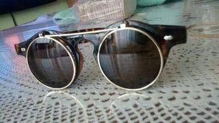 Gafas vintage leopardo