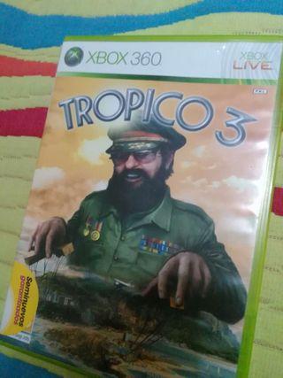 Juego trópico 3, XBOX 360