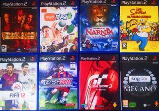 8 Juegos PlayStation 2