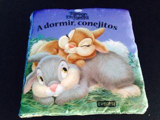 Libro De Tela A Dormir Conejitos