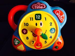 Juguete Reloj Electronico Interactivo