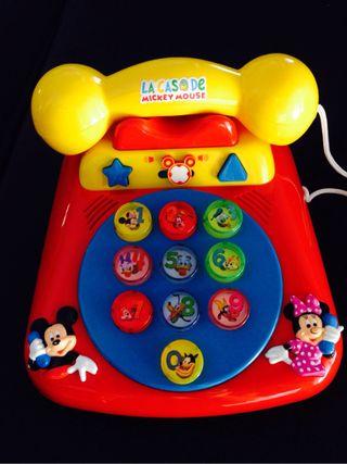 Telefono juguete La Casa De Mickey Mouse