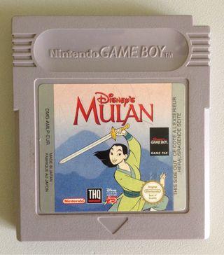 MULAN para Nintendo GAME BOY