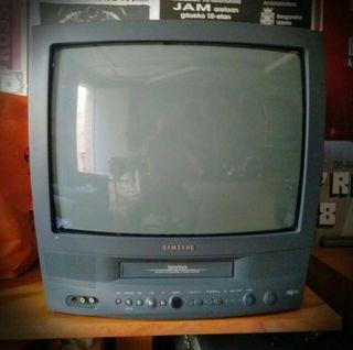 T.V. 19''+ VHS COMBO SAMSUNG