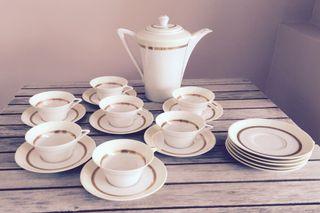 Service À Café Porcelaine Limoges Vintage