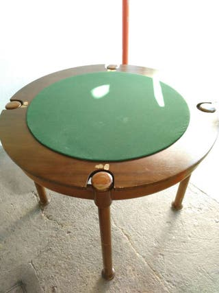 Mesa de juego reversible( poker, cartas)