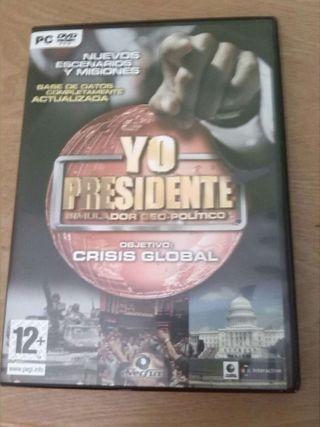 Yo Presidente Crisis Global Juego Pc
