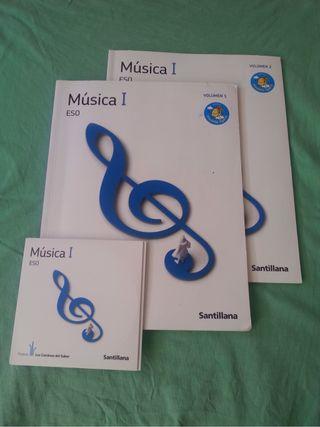 Libros Música 2 Eso Con Cd SANTILLANA