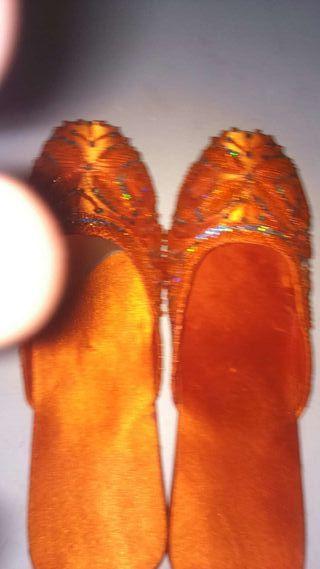 Zapatos lentejuelas