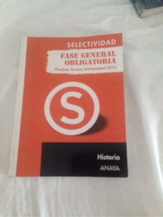 Selectividad, Fase general obligatoria