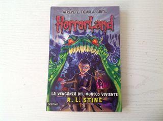 "Libro "" Horrorland"""