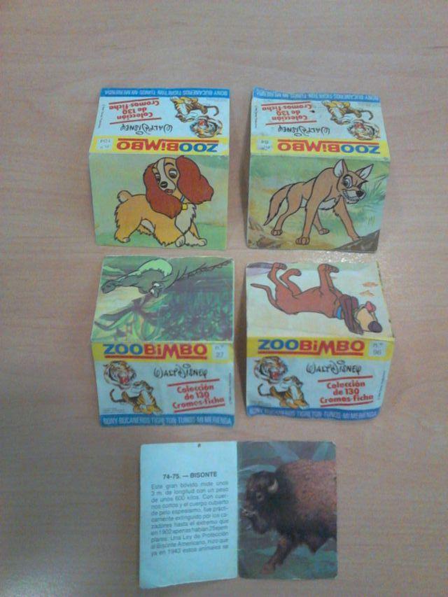 CROMOS ZOOBIMBO. Año 1978 de segunda mano por 8 € en Rubí en WALLAPOP