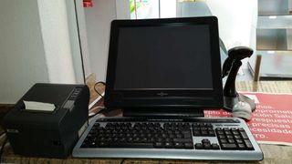 impresora tiket +teclado+raton +lector de codigo barras