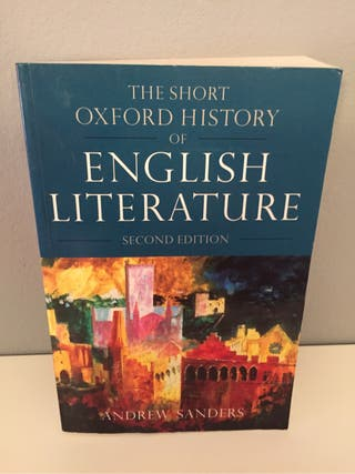 The Short Oxford History Of English Literarure for sale  UK