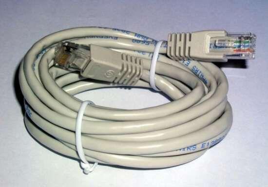 Cables de red de 1,5 a 9 m.