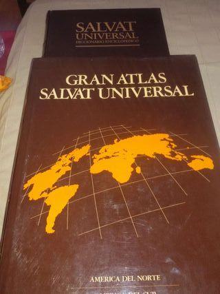 Diccionario enciclopedico +Gran Atlasss