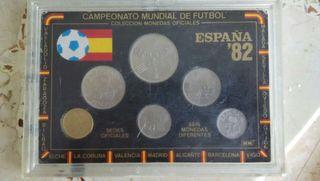 Monedas mundial España 1982 82