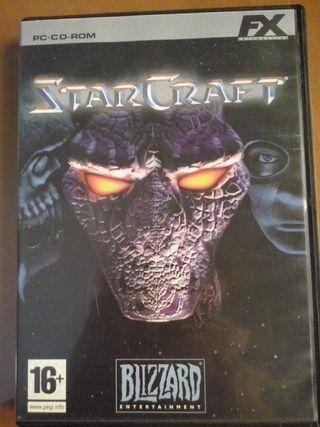 Oferta! Un juego x 10. Dos juegos x 15.Juego ordenador Star Craft.