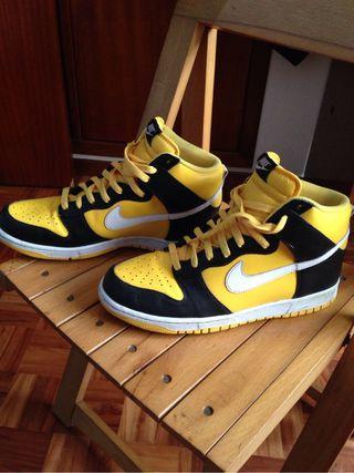 Nike Yellow/black Altas talla 45