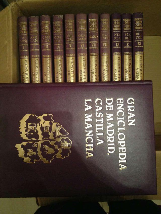 gran enciclopedia de madrid castilla la mancha