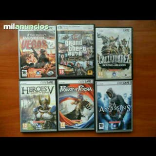 todos por 15€ 6 juegos en muy buen estado para PC
