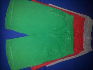 Pantalones cortos de algodon