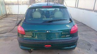Peugeot 206 automático 4 puertas 1.6 gasolina